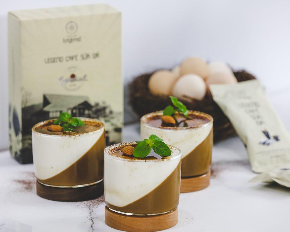 Pudding Legend Cà Phê Sữa Đá