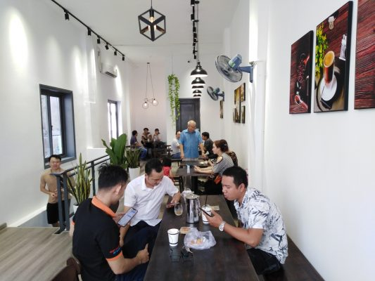 Trung Nguyên E-Coffee Trương Định, Q1