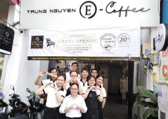 Trung Nguyên E-Coffee Sư Vạn Hạnh, Quận 10