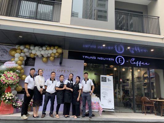 Trung Nguyên E-Coffee Vinhomes Smart City