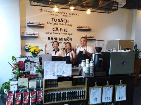 Trung Nguyên E-Coffee 148 Đường D1