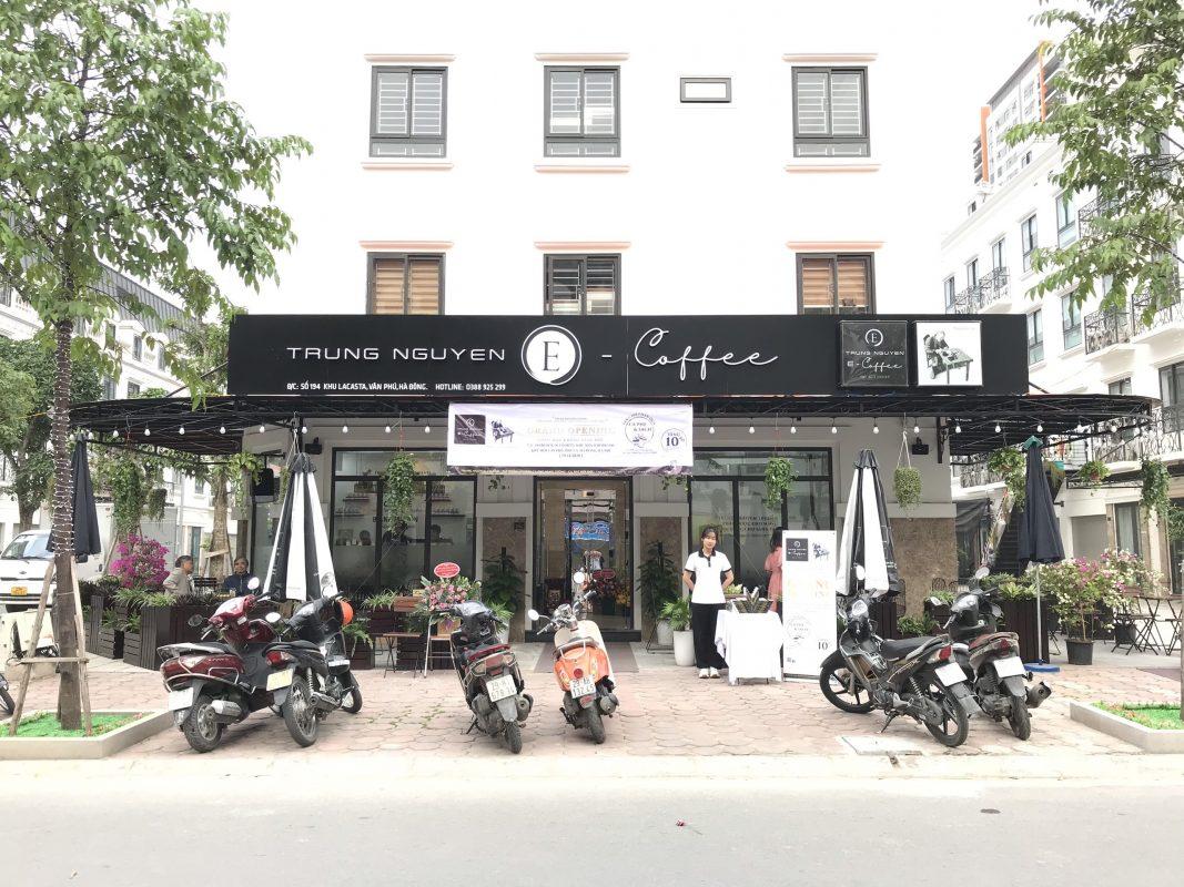 Trung Nguyên E-Coffee KĐT mới Văn Phú, Hà Nội