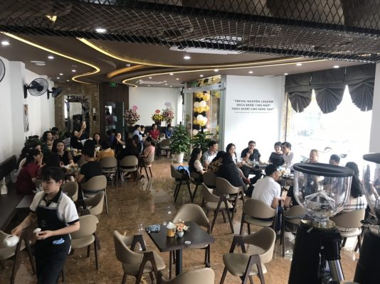 Trung Nguyên E-Coffee Soi Tiền, Lào Cai