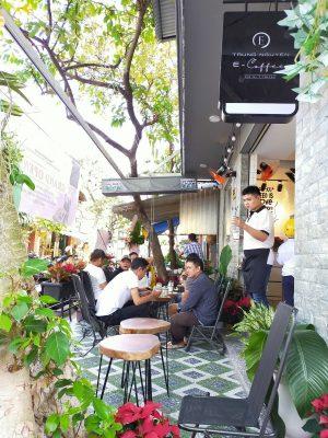 Trung Nguyên E-Coffee Nguyễn Thái Học, Tân Phú