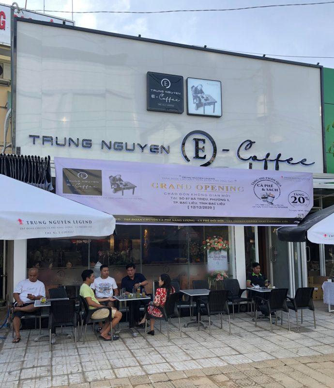 Trung Nguyên E-Coffee Bà Triệu, Bạc Liêu