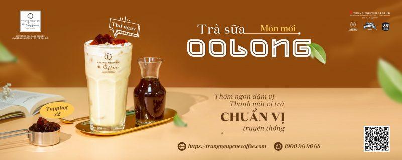 Trung Nguyên E-Coffee Trà Sữa Oolong