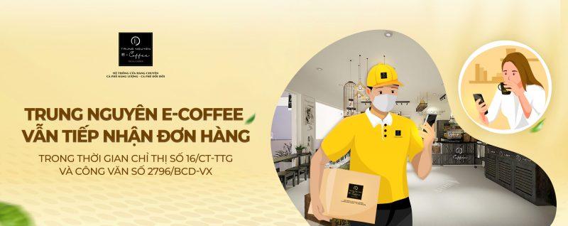 mua cà phê trên web