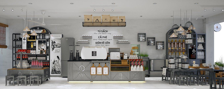Trung Nguyên E-Coffee Mô Hình